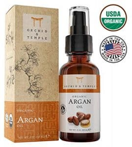 Orchid and Temple Argan Oil