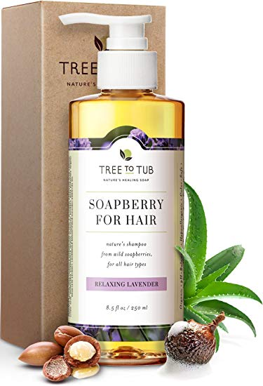 Tree to Tub Soapberry for Hair